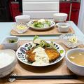 【献立】4人家族の晩ごはん/2種のタルタルソースで白身魚フライ
