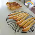オーブントースターで焼くスティックパン by ほとはのかおりさん
