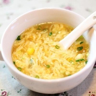 コーンと卵の中華スープ by マイティさん   レシピブログ - 料理 ...