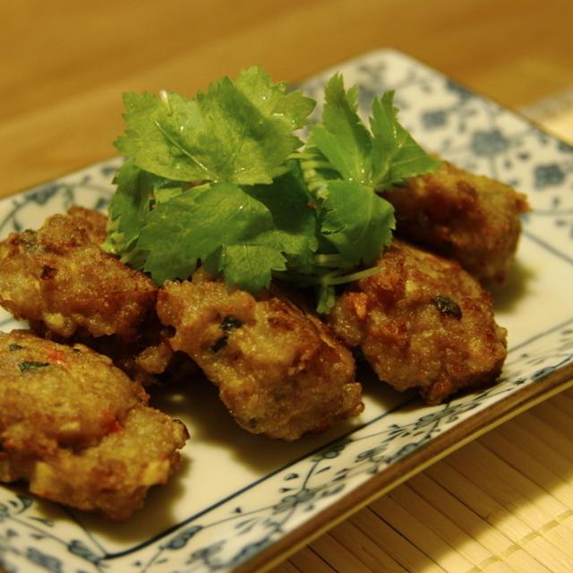 野菜たっぷりカレーがんも〜減塩レシピ〜