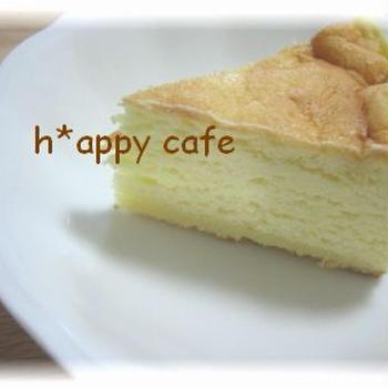 *半熟スフレチーズケーキ~サプライズバースデープレゼント*