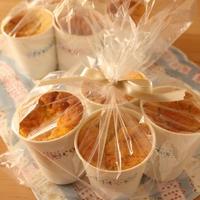紙コップで簡単☆かぼちゃシフォンケーキとディズニーリゾート