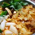 タッカルビ(辛~い鶏のすき焼き)