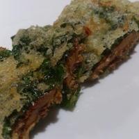 サンマの蒲焼き シソ巻き天ぷら