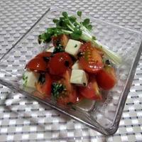 簡単☆さっぱり美味しい♪ トマトマリネサラダ