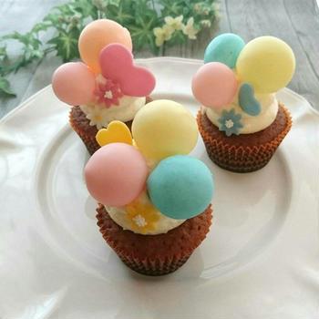 可愛い~バブルカップケーキ