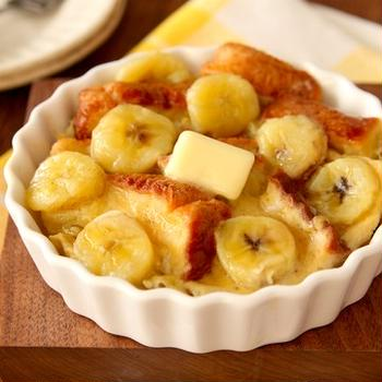 5分で簡単! 朝ごはんやおやつに「レンジで濃厚バナナフレンチトースト」のレシピ