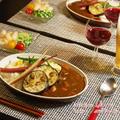 海老とイカの夏野菜カレー定食☆手作りらっきょう付き♪