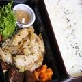 11月13日  豚厚切り肉の あんかけスパイシー炒め弁当