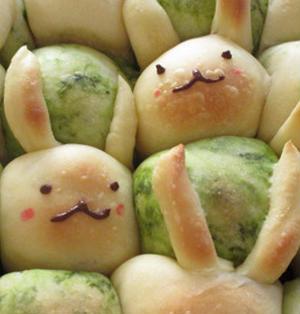 うさぎちぎりパン