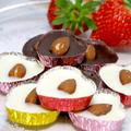 バレンタインやおやつにも! 「手作りチョコレート」と、オーブントースターで焼く「簡単チョコカップケーキ」。・・・そして残ったチョコレートをパスタと和えて比較してみた結果・・・。 by Y&Kさん