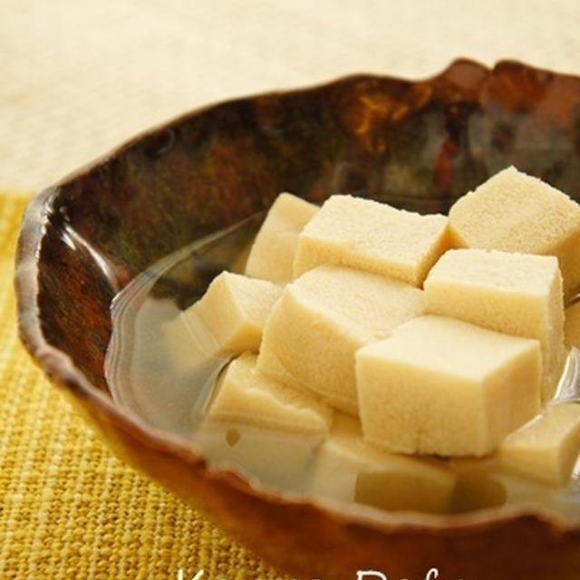 ひんやり高野豆腐の含め煮