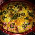真っ赤なグラタン皿で簡単ラザニア