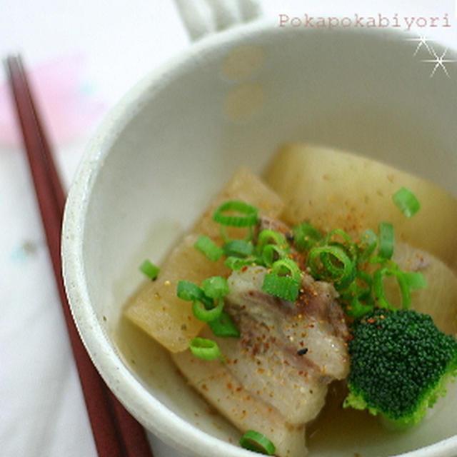 中華風豚バラ大根煮