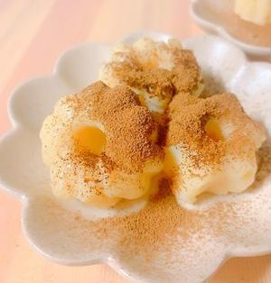 【ヘルシースイーツ】材料3つ&お鍋で簡単☆もちもち豆乳ミルク餅