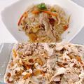 レンジで作るおかず^_^豚肉の野菜炒めでチャブチェ