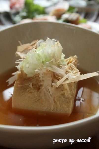 凍り豆腐の含め煮