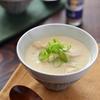 鶏肉のジンジャー豆乳スープ