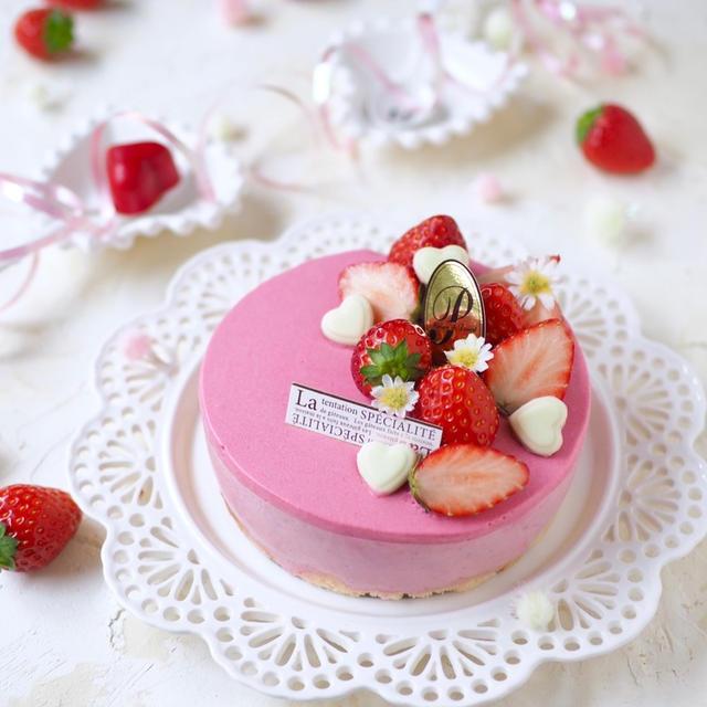 バレンタインにぴったり!苺のフロマージュムース
