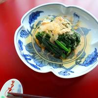 ほうれんそうの煮浸しと削り節5種の食べ比べ【#ヤマキだし部 #和食】