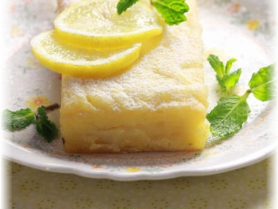 >2STEP 200円で作れる もっちりレモンケーキ。 by YOMEさん