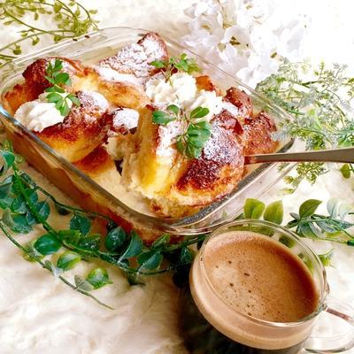 忙しい朝に耐熱皿で一気に作れる『フレンチトースト』