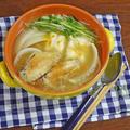 カラダ温まる 鶏手羽先の旨みたっぷり!お雑煮オニオンスープ