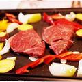 おうち鉄板焼き「ステーキ&シーフード」♪