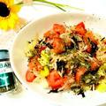 塩昆布とバジルで簡単!トマトサラダ by とまとママさん