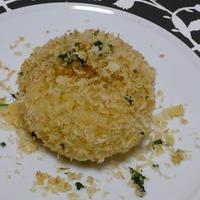 コロコロチーズの揚げないデミグラスライスコロッケ