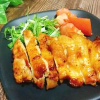 ハリッサを使って トースターで簡単!鶏もも肉の旨辛焼き #グリル #宅飲み