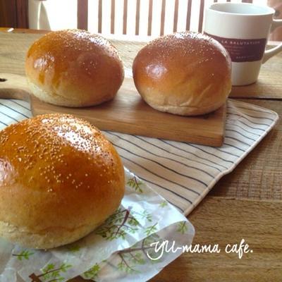 ふっくらもちっとバーガーバンズ〜全粒粉配合〜朝ごはんや春休みランチにオススメなパン。