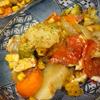 スパイスたっぷり、お野菜煮込み♪