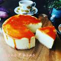 幸せの(#^.^#)♪と超絶しっとりまったり濃厚♪スイートポテトチーズケーキ♪