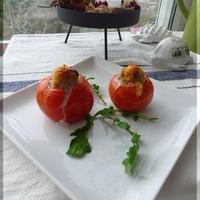 愛菜トマトのファルシ
