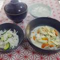 豆腐の湯葉ソース