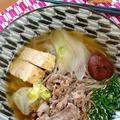 牛すき蕎麦 by さちくっかりーさん