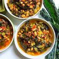 柔らか美味しい♪黒キャベツと大豆のミネストラ