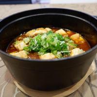 麻婆豆腐の晩御飯