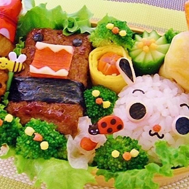 どーもくんとななみちゃん弁当&棒だらと大根菜のポタージュレシピ♪