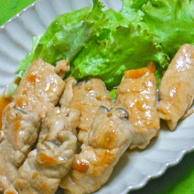 サッと焼いて簡単おつまみおかず!お肉はちょっとでボリューミィ〜エリンギの豚肉巻き。