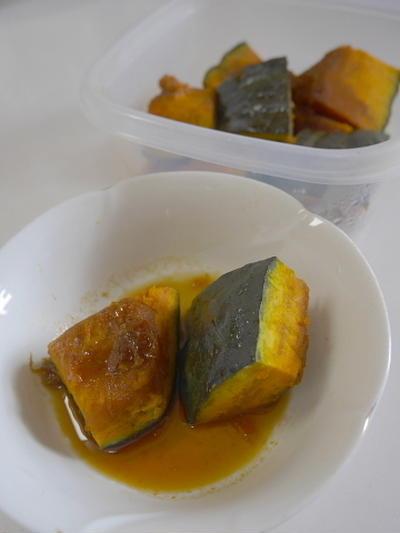話題の、信州産もち米本みりんで作るかぼちゃのレンチン煮物