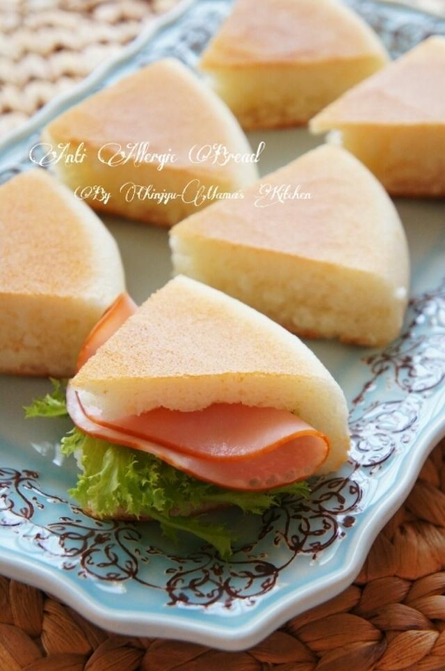 簡単&時短の米粉パン