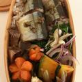 2016/9/12さんまとエリンギの有馬煮のお弁当 by Junkoさん