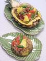 黒胡椒とパイナップルのチャーハン