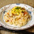 お節のリメイク【ちらし寿司】筑前煮や飾り切りした切れ端で作ります