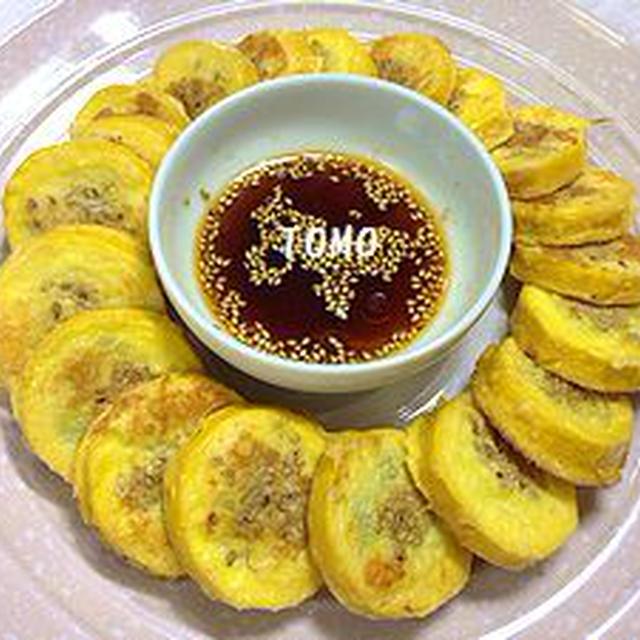 韓国風ズッキーニのチーズ焼き