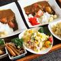 ■【カレーライス/蕗の甘辛炒め煮/ポテトサラダ】義姉宅へと ケータリングランチ♪