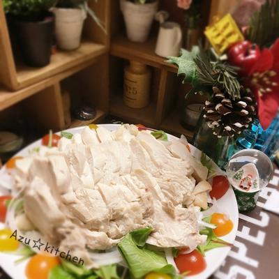 簡単☆蒸し鶏〜合わせるだけの簡単タレ〜