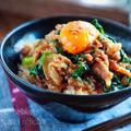 ♡フライパン5分♡豚肉とニラのスタミナ丼♡【#簡単レシピ#時短#節約#春休みランチ】